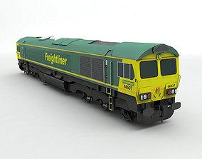 3D asset Class 66 Locomotive Freightliner