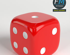 Rounded dice 3D