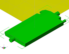 3D printable model 97 jeep heater vent assy