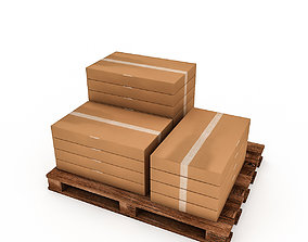 realtime 3D Warehouse Box Model 5