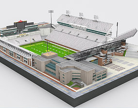 Bobby Dodd Stadium 3D model low-poly