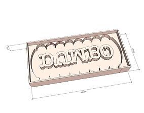 3D printable model Dumbo printed gingerbread