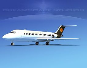 3D model Douglas DC-9-15 National