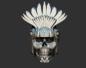 Aztec Skull 3D printable model