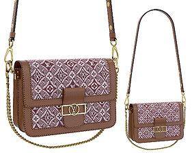 3D asset Louis Vuitton Dauphine Bag Red 1854