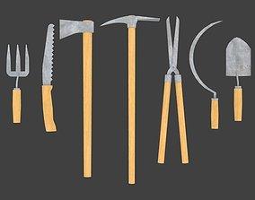 Garden tools Lite 3D model
