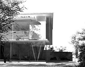 Two Floor Mediterranean Summer House 3D
