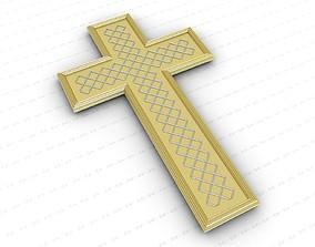 Cross orthodox 3D model
