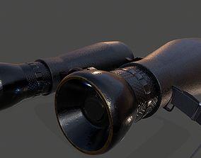 3D asset Binocular WW-1 PBR 4K Textured