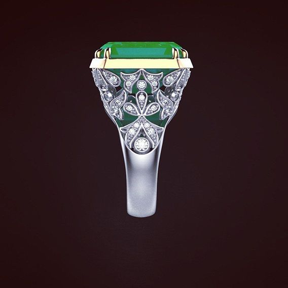 Ring for earrings Graff