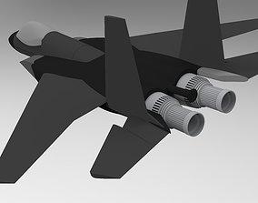 Aircraft design F15 3D