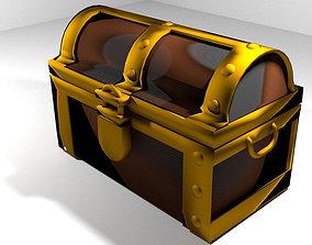 3D model Treasure Chest - Type 2