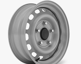 Steel Wheel Rim 3D