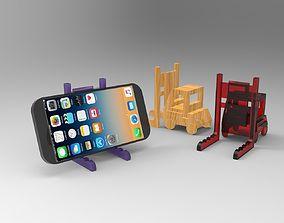 3D print model Forklift Phone Stand