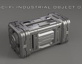 Sci-Fi Industrial Object 03 3D model