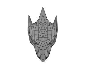 Fantasy Mask 3D asset