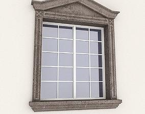 3D asset Window Frame 08