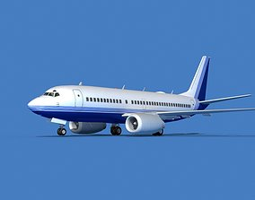Boeing 737 MAX 7 Corporate 3 3D