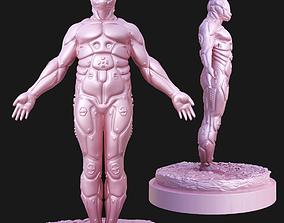 3D printable model Bionic Human