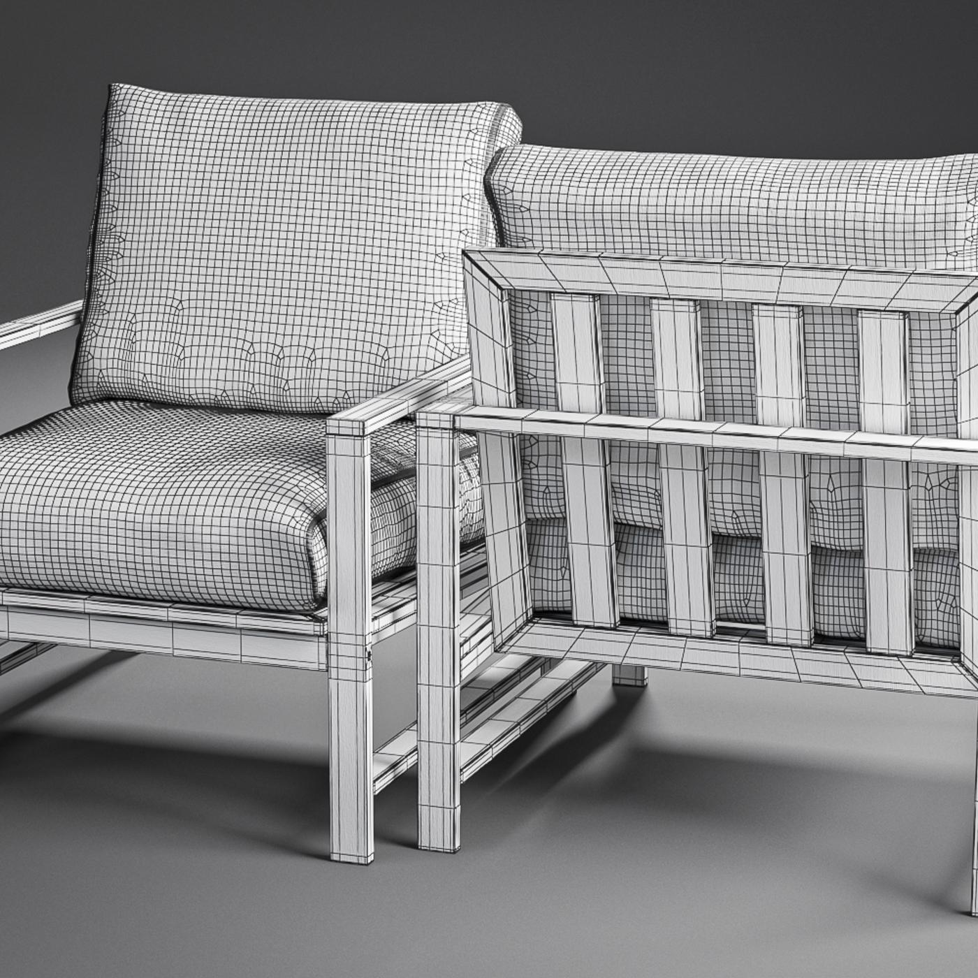 Modern Farmhouse Outdoor Wood Chair