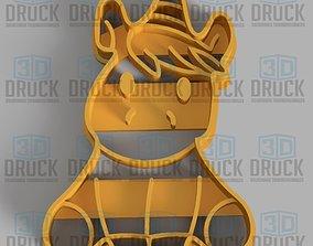 3D printable model Unicorn - Unicornio Cookie Cutter