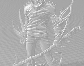Ghostrider figure 3D printable model