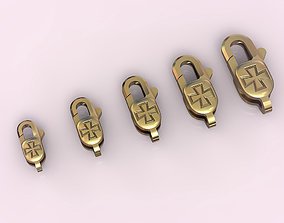 3D print model Locks for jewelry chains and bracelets 002