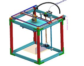 3d printer animated