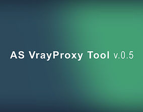 maxscript AS Vray proxy tool for 3dsmax