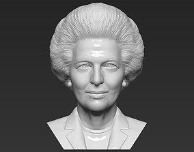 Margaret Thatcher bust 3D printing ready stl obj