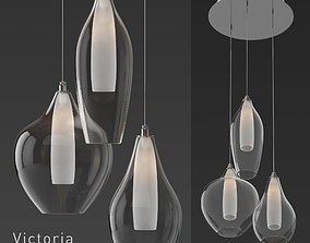 3D KUZCO Lighting Victoria MP3003 Pendant Light