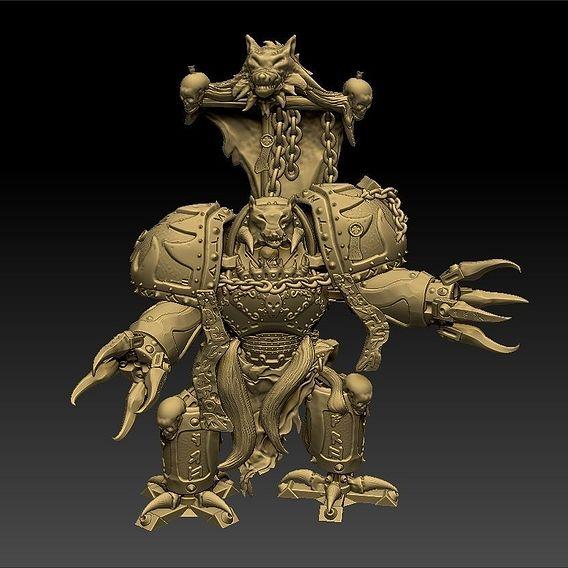 Ancient Dreadnought Figurine