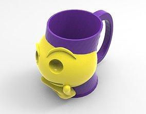 3D model mug emoticon