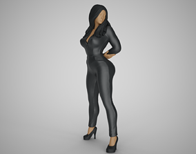 3D printable model Woman in the Mirror 2