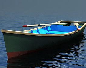 3D model Barton skiff