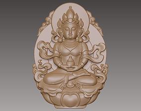 Kwanyin Bodhisattva 3D print model highpoly