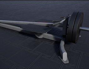 3D model Tbar Row