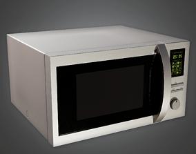 3D asset Modern Microwave - AV2