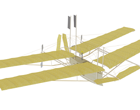 Flying Machine 3D model