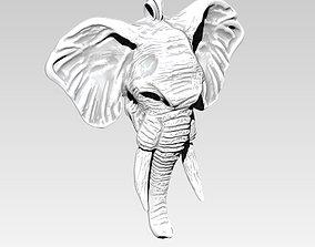 3D print model Elephant Necklace