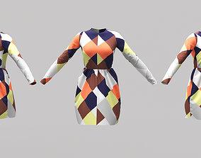 Female Clothing 01 3D asset