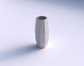 3D print model Vase hexagon with huge plates