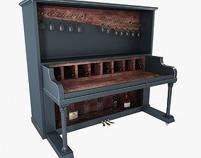 Waiter station piano bar 3D model