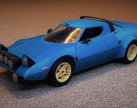 3D print model Old rally car