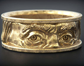 Franklin eyes Ring 3D print model