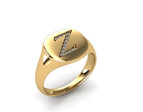 3D print model Jewelry Signature Ring jewel