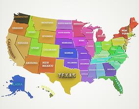 United States Of America 3D model