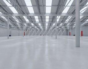 3D model Warehouse Interior 8b