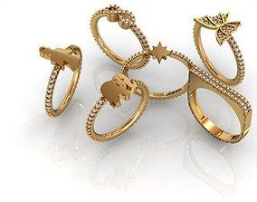 Young rings Bonus 3D print model