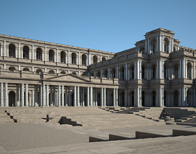 Ancient Roman Forum 3D